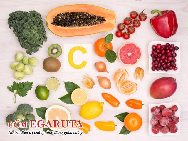 Trẻ tăng động nên bổ sung vitamin C